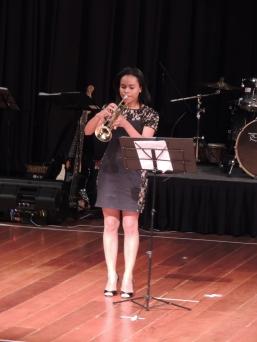 """Duo de trompete e piano com a música """"The Entertainer de Scott Joplin (Créditos: Verônica Miranda)"""